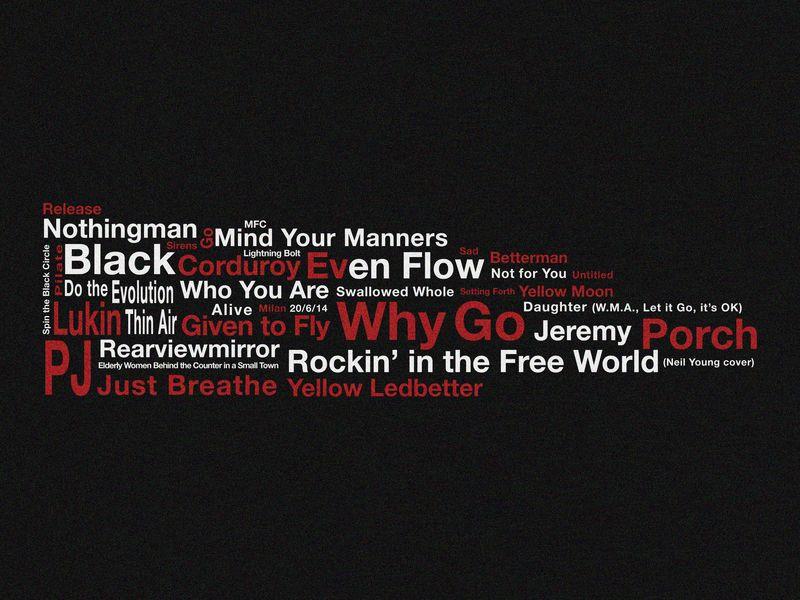 Pearl Jam typography piece_setlist_20.6 copy